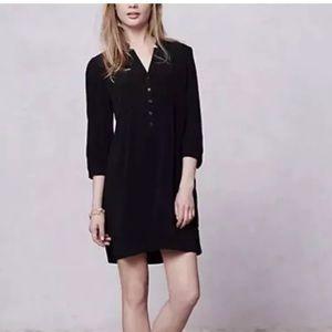 Anthropologie Maeve Crepe Taryn Tunic Dress